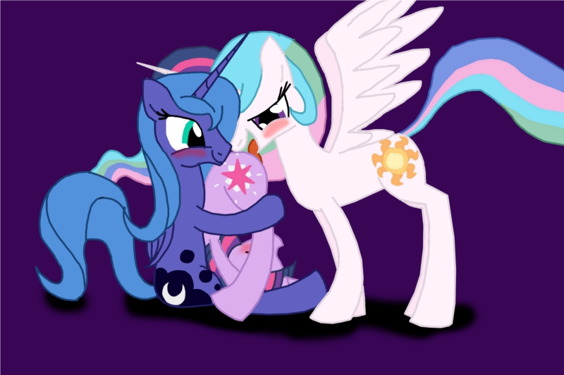 little luna my princesa pony Zonic the zone cop comic
