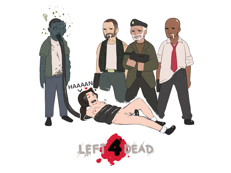 left dead 4 2 charger Jessica rabbit vs holli would