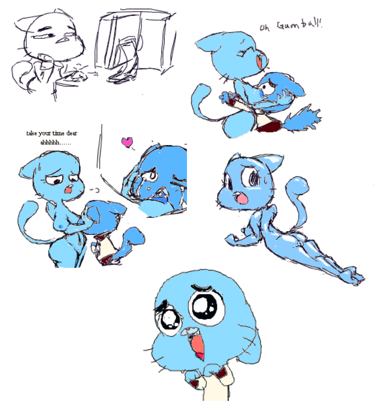 naked of amazing world gumball Arlo my time at portia
