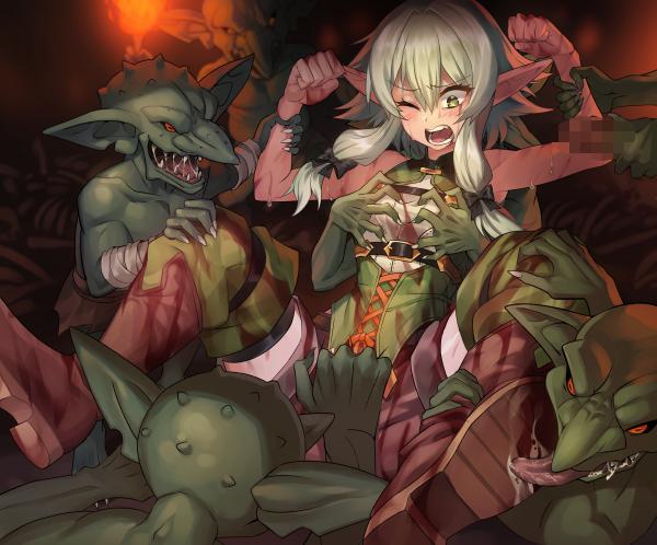 scenes rape manga slayer goblin American dragon jake long rose