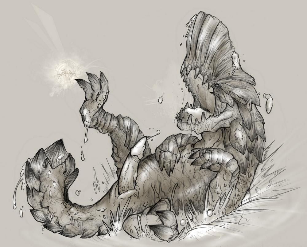 life endemic monster hunter researcher world Hajimete no gal