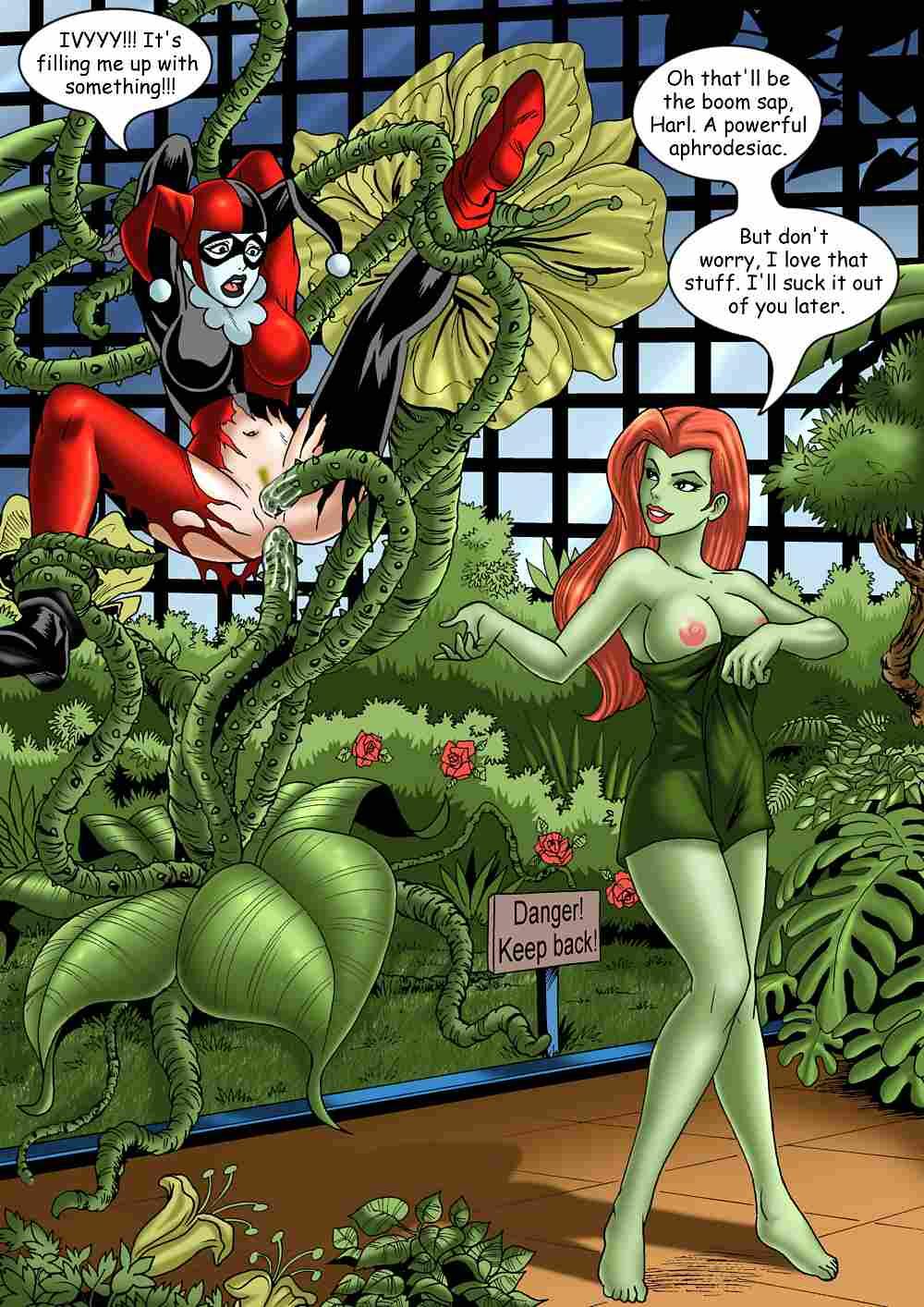 quinn harley ivy lesbian poison Mangaka-san to assistant-san to