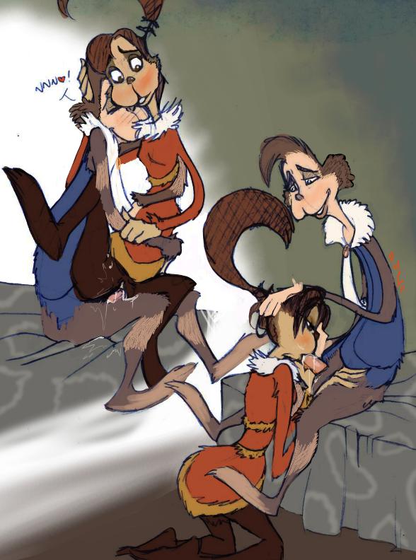 characters jojo who horton a hears Doki doki little oyaasan.