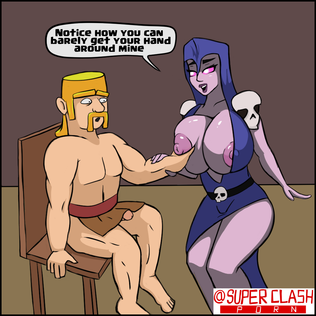 or wizard clash royale witch Gay dragon ball z porn comics