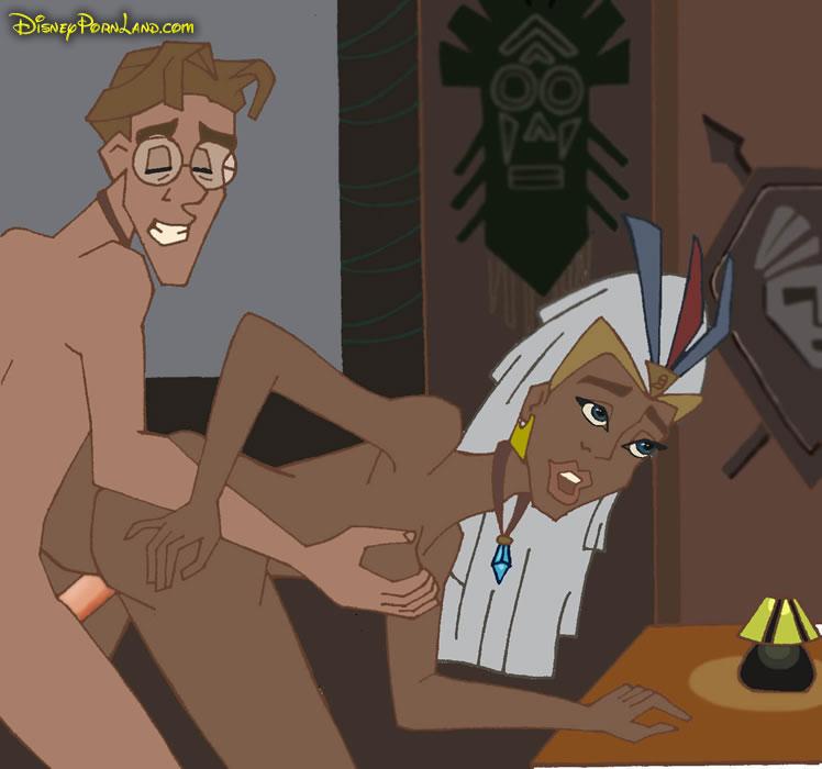 the empire atlantis naked lost Dragon ball z extra milk