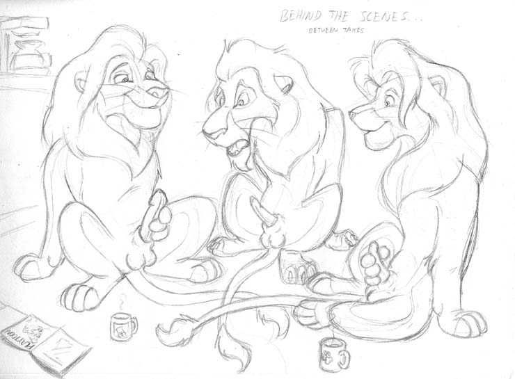 lion shenzi king the from Trials in tainted space breasts