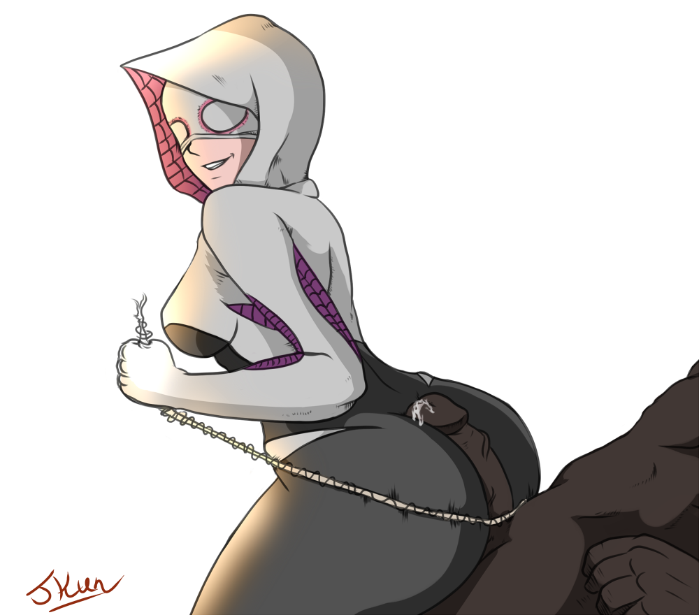 stacy miles x morales gwen Wii fit trainer futa hentai