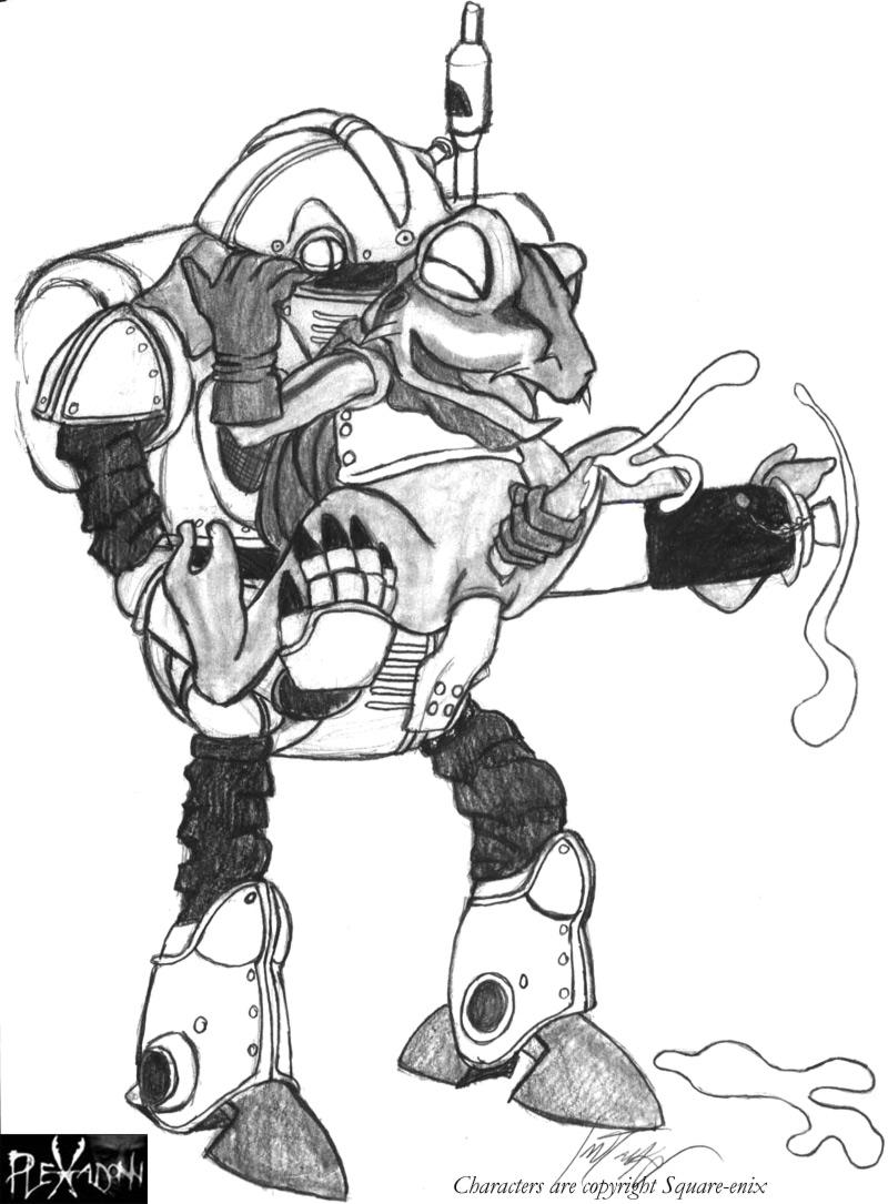 kenzen-robo-daimidaler Parasite in city animated gifs