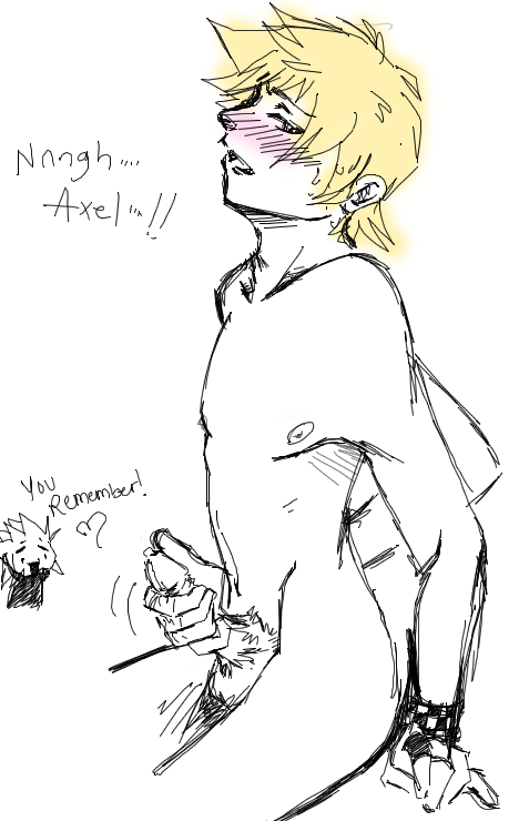 roxas x hearts kingdom axel Spooky's house of jumpscares puppet