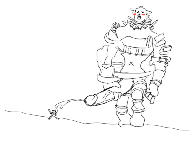mono shadow feet colossus the of Trials in tainted space busts
