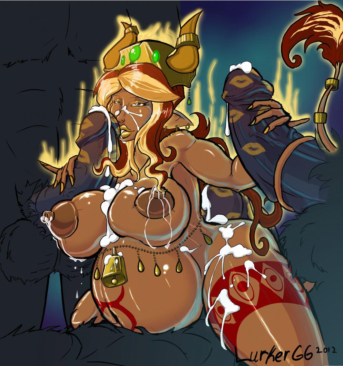 of corruption cum champions witch Libra of the vampire princess cg
