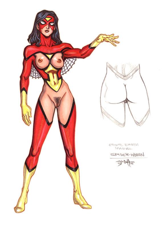 carpenter julia spider-woman Marshmallow-imouto-succubus