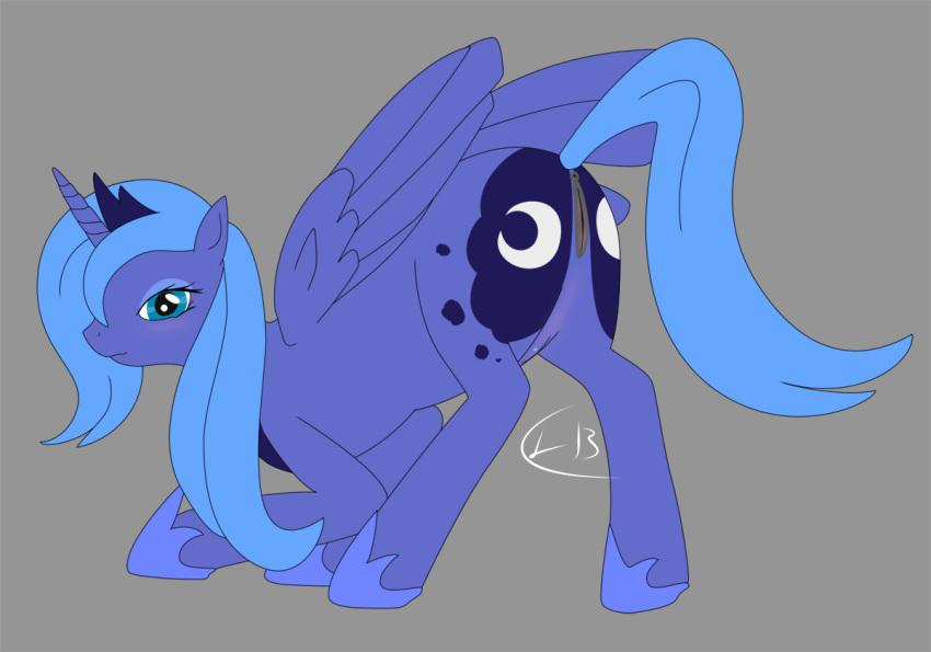 little luna princesa pony my Land of the lustrous lapis