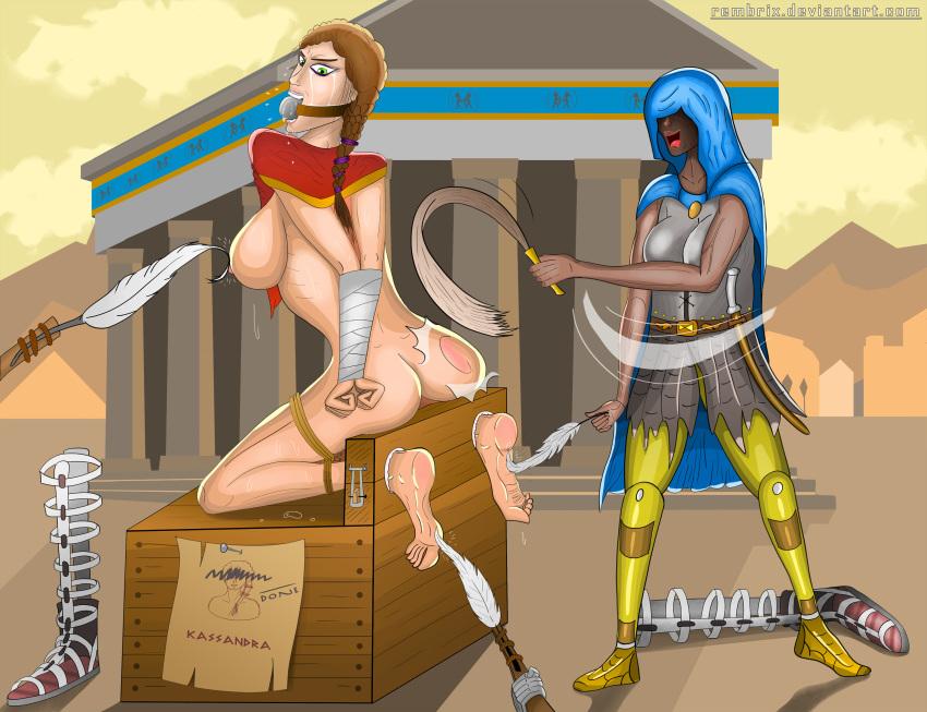 kassandra assassin's creed God of war ascension nude