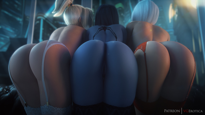 from overwatch is old mercy how Teenage mutant ninja turtles april butt