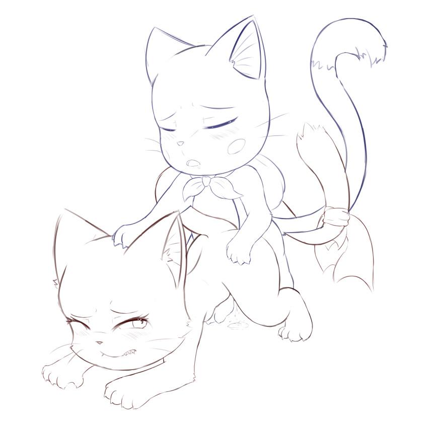 tail gif fairy erza hentai Homura (senran kagura)