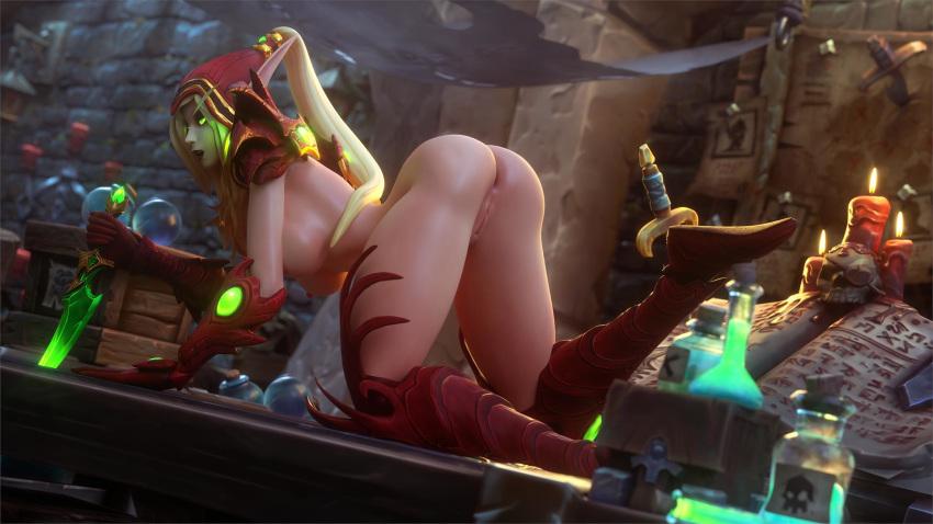 hentai world blood warcraft elf of Aisha clan clan