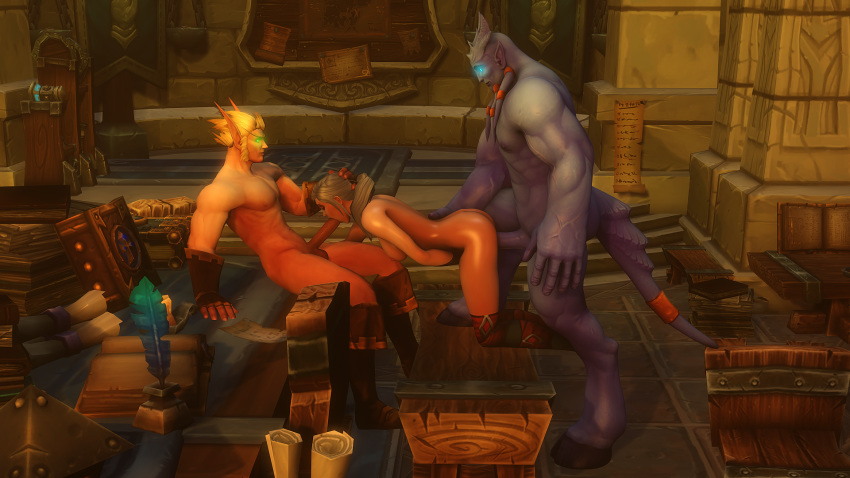 blood warcraft world of hentai elf Zelda breath of the wild naked