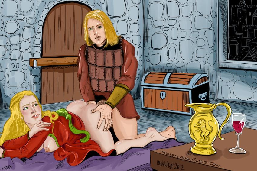 art game of erotic thrones Mobius unleashed blaze the cat