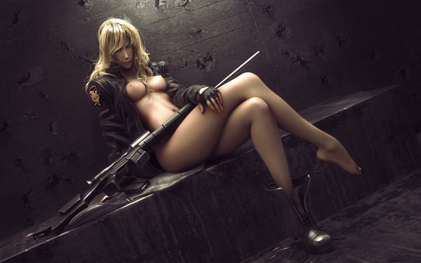 sniper wolf gear metal hentai I wanna see the whole tiddy
