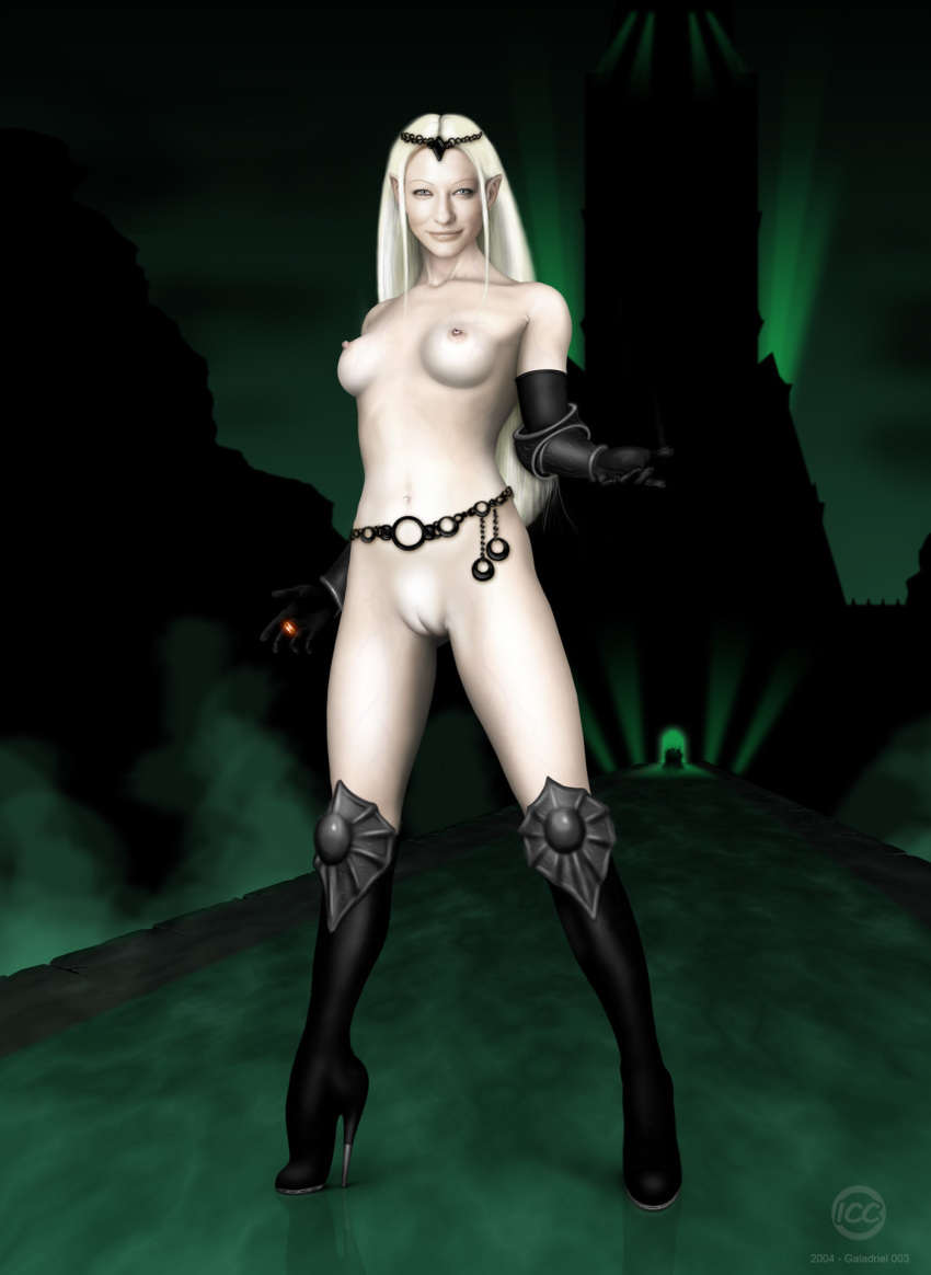 female lord rings of the orcs Gargantia on the verdurous planet