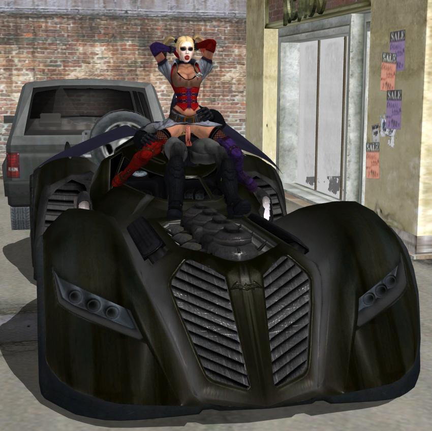 arkham batman how city to catwoman get in Isekai-meikyuu-de-harem-o