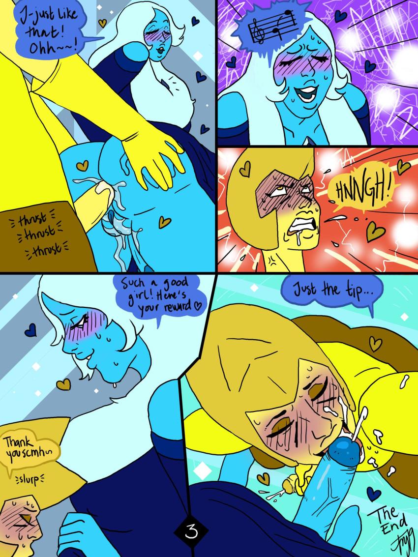 diamond steven blue diamond yellow x universe Trials in tainted space tuuva