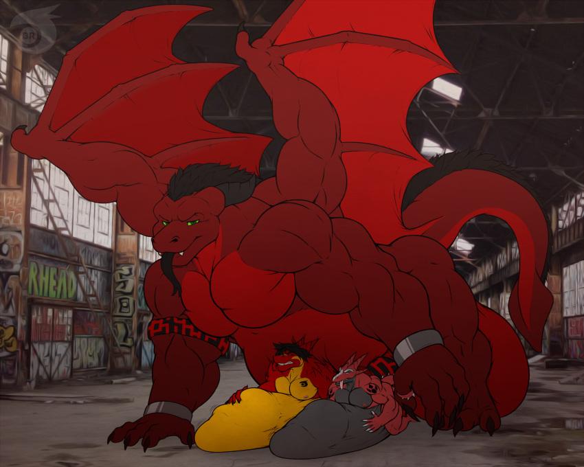 dog the red clifford big porn Onmyou kishi towako ~hebigami no inma choukyou~