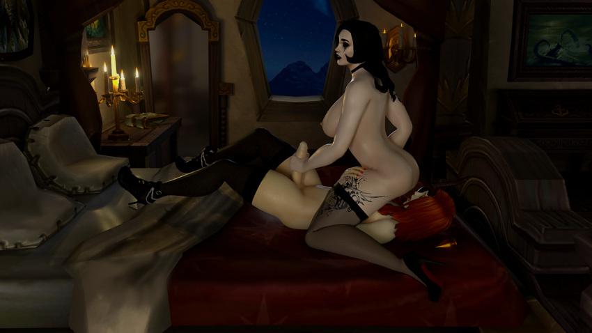 greymane world genn warcraft of Dragon ball xenoverse female majin